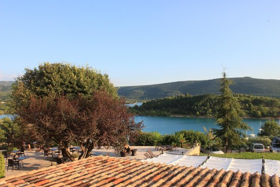 Auberge des Salles : view from the hotel