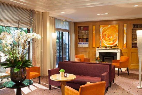 Hôtel Garden Elysée : Lobby