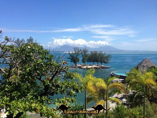 Manava Suite Resort Tahiti: ocean view room