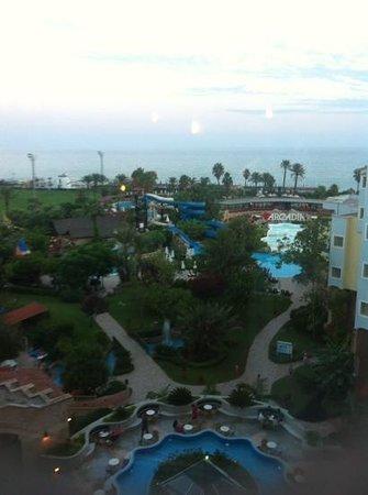 Limak Arcadia Golf & Sport Resort: View From The Top Floor
