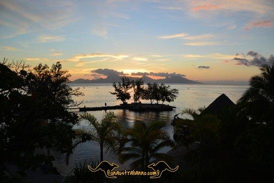 Manava Suite Resort Tahiti : ocean view room