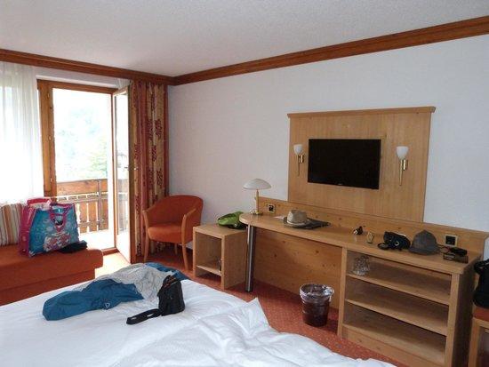 Hotel Alpenroyal : Chambre