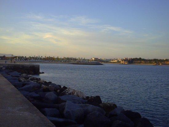 Hotel Avenida Praia: Aussicht Yachthafen