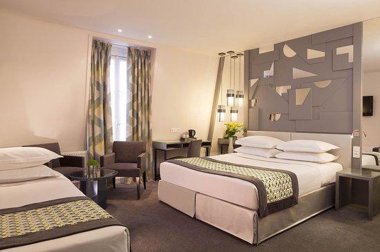 BEST WESTERN La Villa Des Artistes : Triple Room
