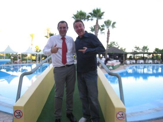 Baia Grande: BBQ Night with Hotel Manager Paulo D at the Baia