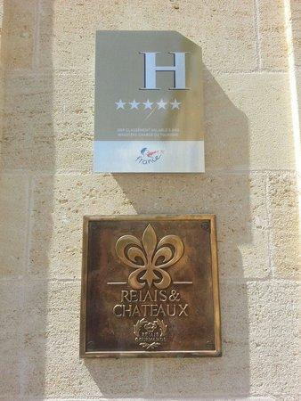 Hostellerie de Plaisance: 5☆ et Relais château.