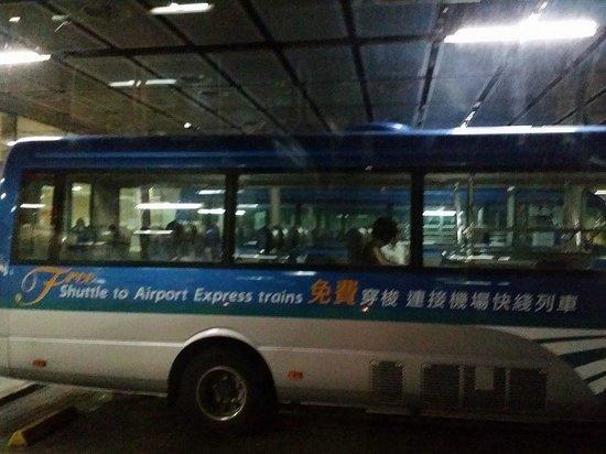 free airport express shuttle bus service hong kong