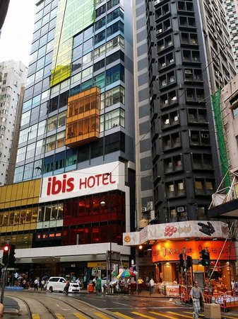 Ibis Hong Kong Central & Sheung Wan Hotel: HOTEL VIEW