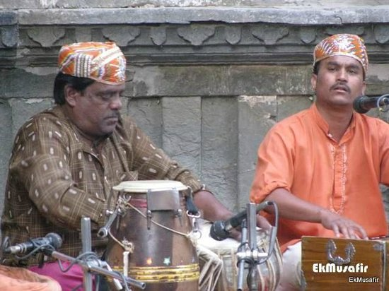 Dharohar Folk Dance: The musicians