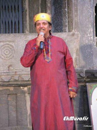 Dharohar Folk Dance: The speaker