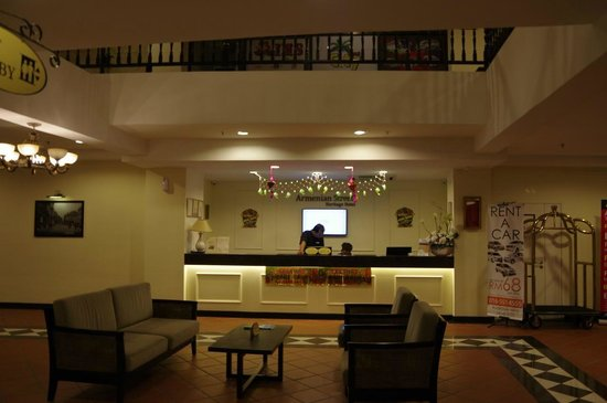 Armenian Street Heritage Hotel: ロビー