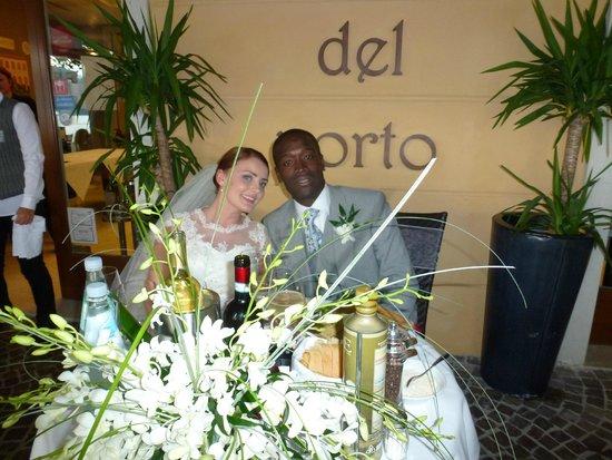 Hotel del Porto: Wedding Day Celebrations