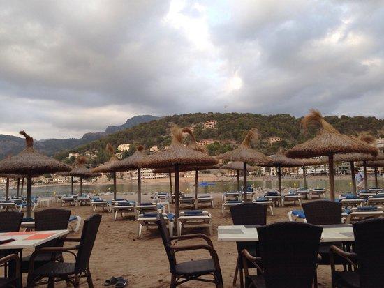 Café bar Es Recó: The view