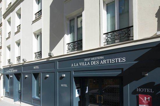 BEST WESTERN La Villa Des Artistes : Outside View