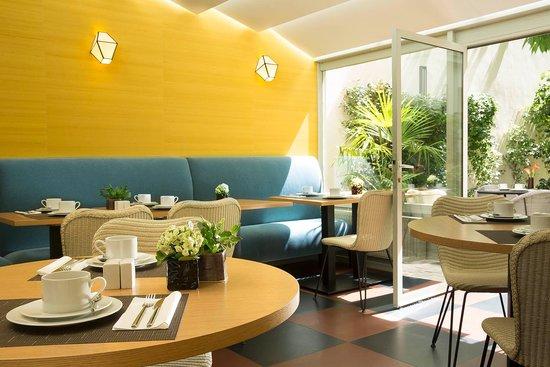 BEST WESTERN La Villa Des Artistes : Breakfast Room