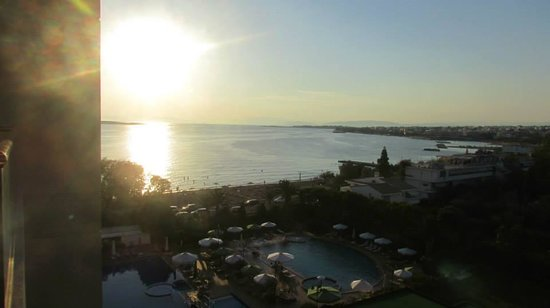 Divani Apollon Palace & Thalasso: View from the room