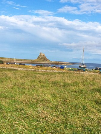 Lindisfarne Priory: Castle and working harbour