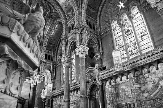 Inside of Basilique Notre Dame de Fourviere