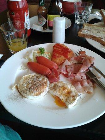 VR Hamilton Hotel: breakfast cooked option