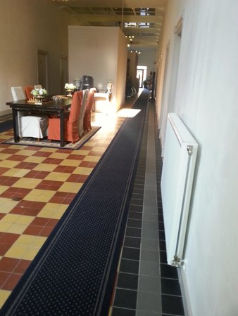 Hotel Singel: zithoekje met gratis koffie en thee