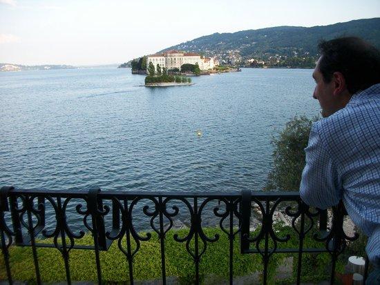 Albergo Ristorante Verbano : panorama dal balcone