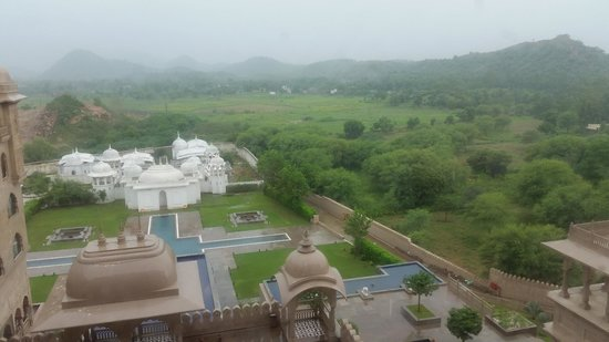 Fairmont Jaipur: View from the terrace