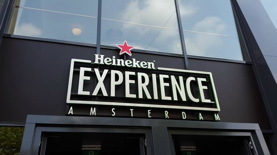 Heineken Experience : The Entrance