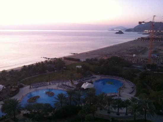 Le Meridien Al Aqah Beach Resort: View from the room