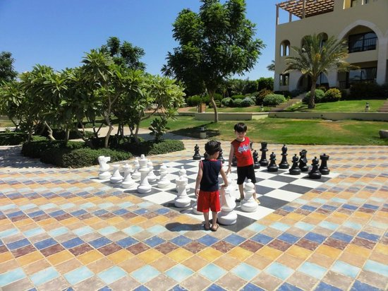 Radisson Blu Tala Bay Resort, Aqaba: Scacchi all'aperto