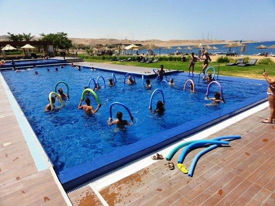 Radisson Blu Tala Bay Resort, Aqaba: La Piscina della ginnastica acquatica