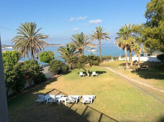Abrat Hotel: giardino