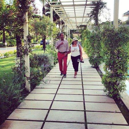 UNA Hotel Versilia: Beautiful garden