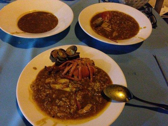 Meson Casa Blas: arroz con bogavante