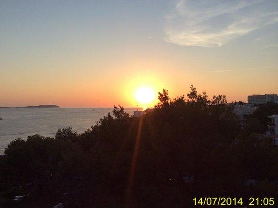 Abrat Hotel: tramonto