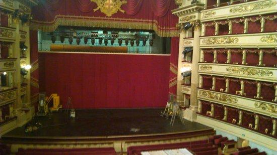 Mailänder Scala (Teatro alla Scala): L'intérieur