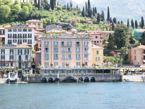 Hotel Metropole Bellagio: hotel visto dal lago