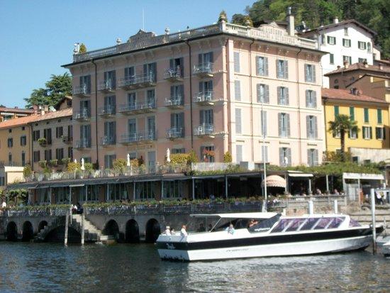 Hotel Metropole Bellagio: l'hotel dal battello