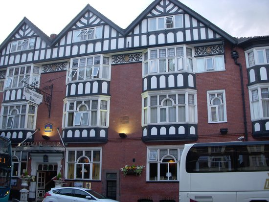 BEST WESTERN Westminster Hotel: Hotel frontage