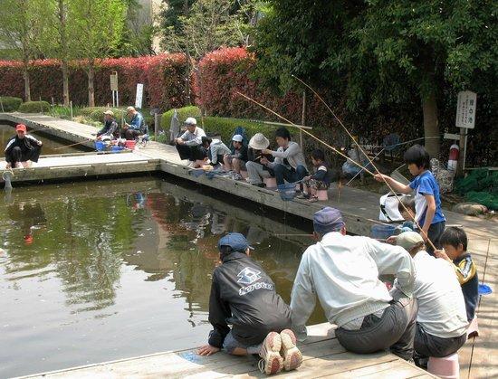 Arakawa Yuen : Пруды для рыбалки