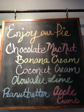 Leoda's Kitchen and Pie Shop: pies, pies, pies