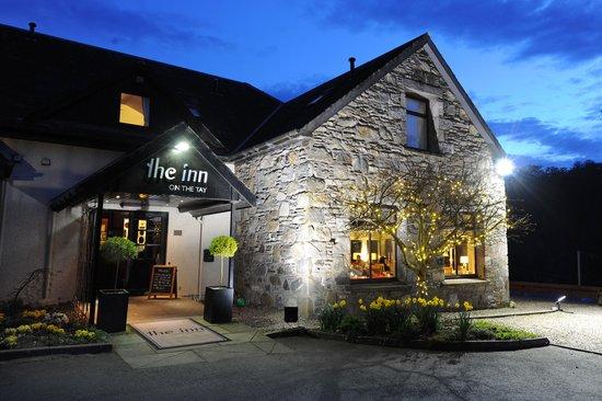 The Inn on the Tay: The Inn at night