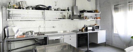 7 de Ribera: Detalle de la cocina