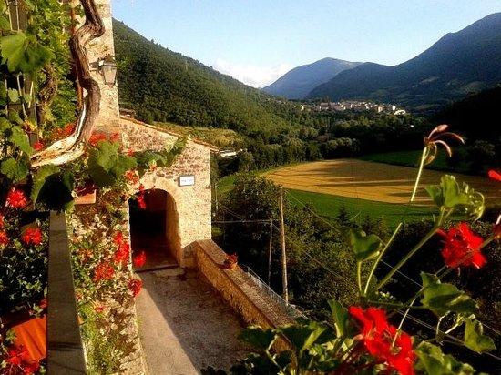 B&B La Terrazza del Castello: panoramica dalla Terrazza Del Castello