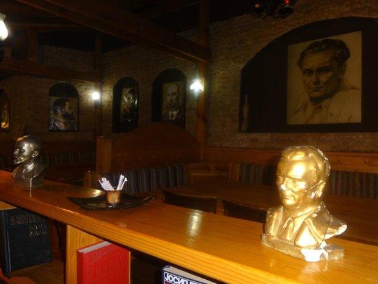 Restaurant Kaj Marsalot: Interieur du restaurant