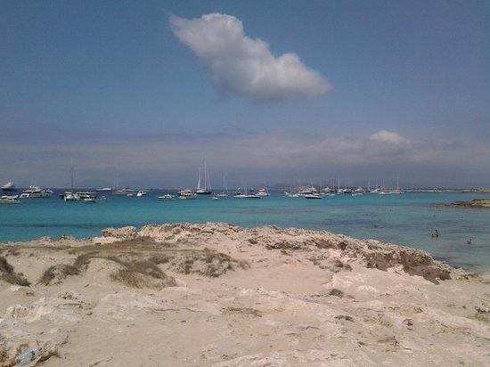 Playa de Ses Illetes: 1