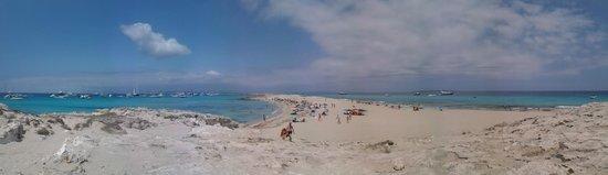Playa de Ses Illetes: 4
