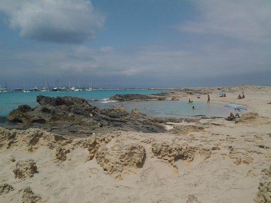 Playa de Ses Illetes: 2