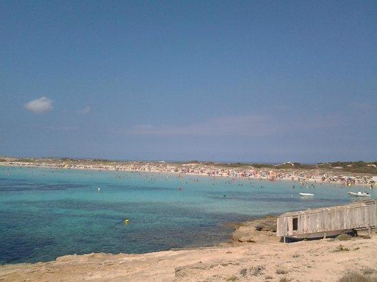 Playa de Ses Illetes: 3