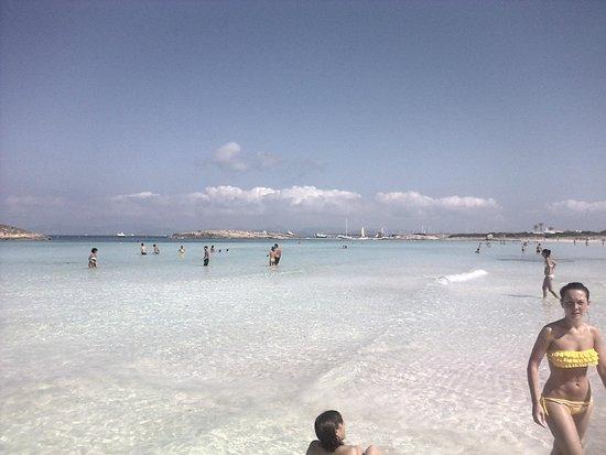 Playa de Ses Illetes: 6