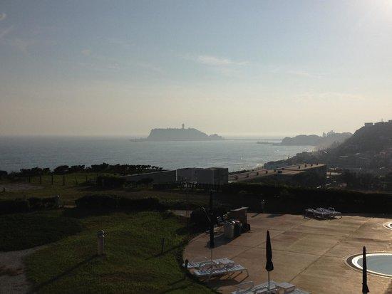 Kamakura Prince Hotel: 部屋からの眺望